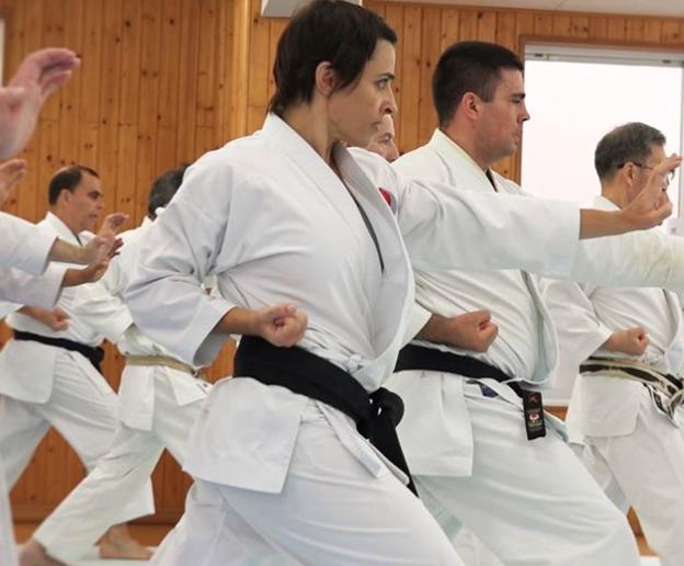 Karin Prinsloo South Africa JKA In Japan