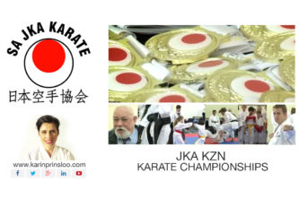 Karin Prinsloo News KZN Karate Tournament