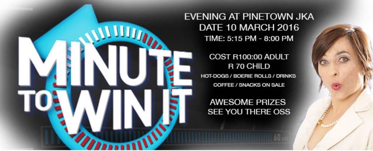 Pinetown JKA - Karin Prinsloo - Minute to Win It